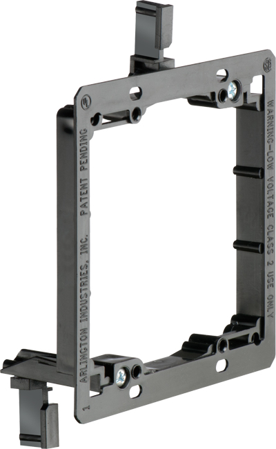102192AP - Low Voltage Mounting Bracket for Existing Construction - Double Gang - Plastic