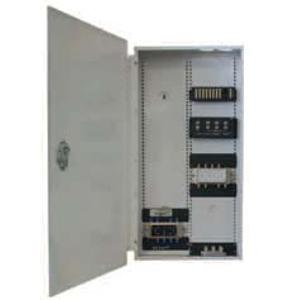 103906 - structured wiring panel w/locking hinged door, 48