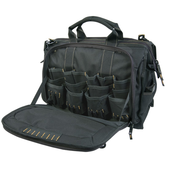 "109545 - Custom LeatherCraft (CLC) - 18"" MULTI-COMPARTMENT TOOL CARRIER"