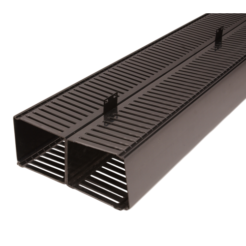 "120204 - Vertical Slotted Duct - Double Sided - 83""H x 10""W x 4""D"