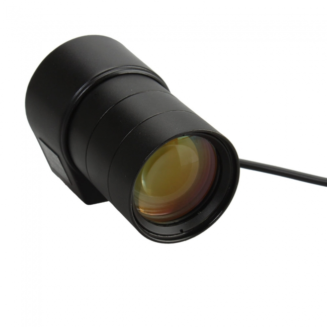 "245872 - CS Mount Camera Lens - Auto IRIS - VARIFOCAL - 1/3"", 6-60mm, F1.4"