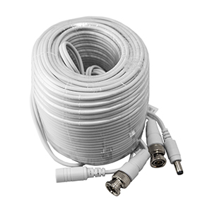 270091/30M - Pre-terminated Siamese Coax BNC Video & DC Power Cable for HD-TVI - 30M (98ft)