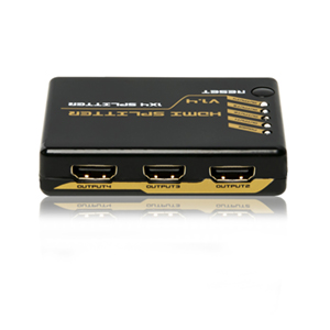 301055 - 1x4 HDMI Splitter with Full 3D & 4K Support
