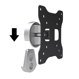 "309019 - Tilt & Swivel TV Wall Mount: 13""-27"" Screens"