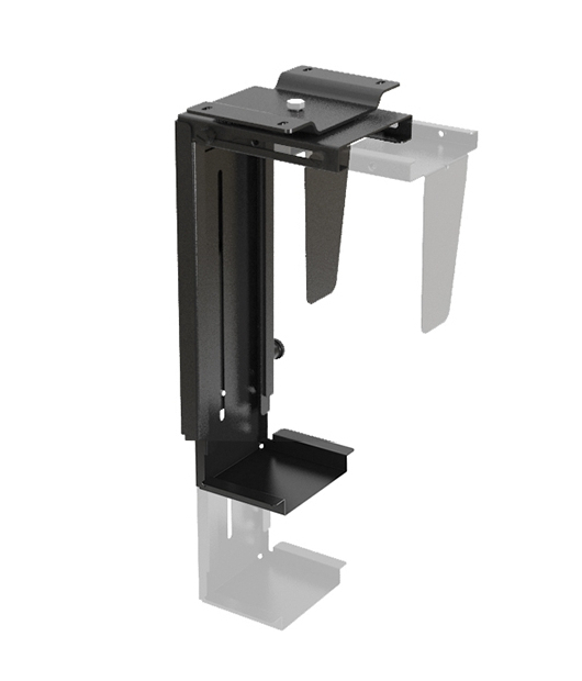 309270 Adjustable Under Desk Or Wall Cpu Mount Your