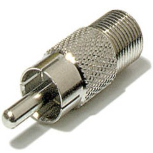503420 - F Type to RCA Adapter - Female to Male