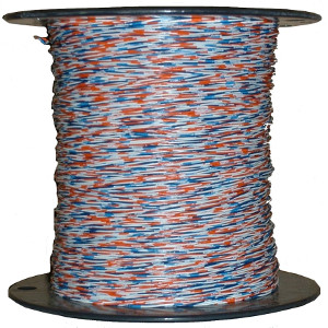 100025BL/OR - Cross Connect Wire, 2 Pair, 24 AWG, 1000ft