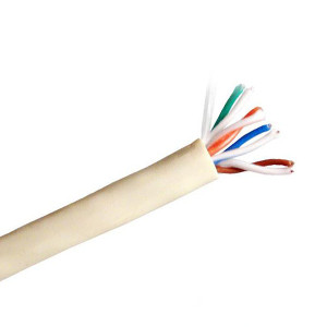 101152BG - CAT5e Indoor or Outdoor UV Rated Cable, 4 Pair, UTP, Riser Rated (CMR) - Beige - 1000ft
