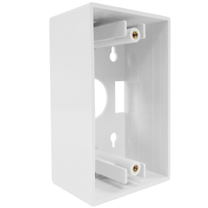 102196XWH - Junction Box - Single Gang - White