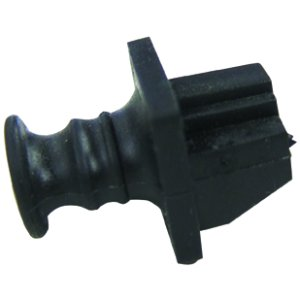 102604 - Dust Cover for RJ45 Jack - 50 Pack - BLACK