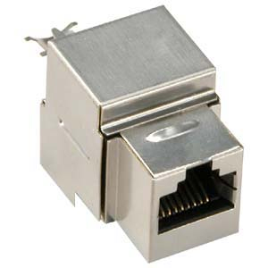 102661S - CAT6 - RJ45 - Shielded Punch Down Keystone Jack Insert
