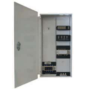 "103902 - Structured Wiring Panel w/Locking Hinged Door, 18"" H x 14"" W x 4"" D, White"