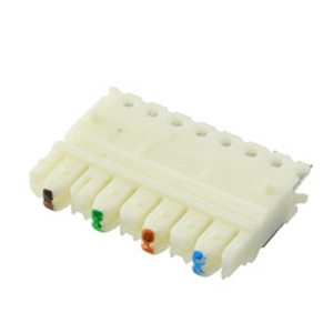 104040/10 - 110 Wiring Block Wafer - 4 Pair - Bag of 10