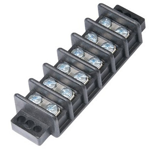 104706 - 6 Gang Screw Terminal Block