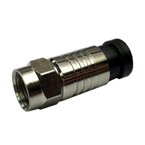 108107M - RG6 - F Compression Connector - Waterproof - Male