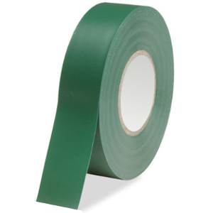 109205GN - Electrical Tape - 3/4in x 66ft - Green