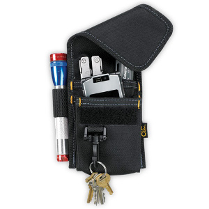 109507 - Custom LeatherCraft (CLC) - 4 POCKET MULTI-PURPOSE TOOL HOLDER