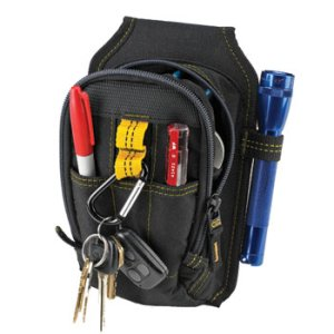 "109518 - Custom LeatherCraft (CLC) - 9 Pocket Multi-Purpose ""Carry-All"" Tool Pouch"