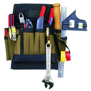 109519 - Custom LeatherCraft (CLC) - 10 Pocket Electrical Tool Pouch