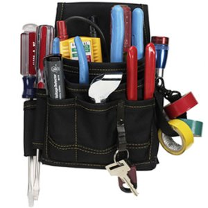 109520 - Custom LeatherCraft (CLC) - 9 Pocket Electrical or Maintenance Pouch