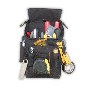 109523 - Custom LeatherCraft (CLC) - Medium Ziptop� Utility Pouch