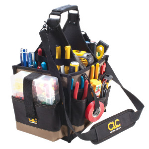 109540 - Custom LeatherCraft (CLC) - 23 Pocket Large Electrical and Maintenance Tool Carrier