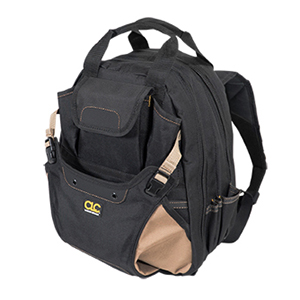 109562 - Custom LeatherCraft (CLC) - 48 Pocket Deluxe Tool Backpack