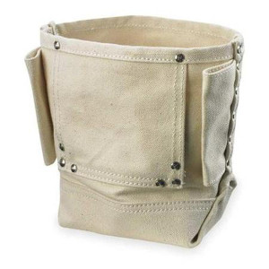 109585 - Custom LeatherCraft (CLC) - Standard Canvas Nut & Bolt Pouch