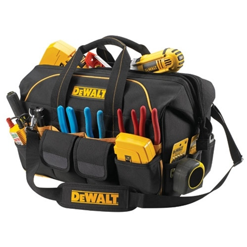 "109705 - DeWalt - 18"" Pro Contractor's Closed Top Tool Bag- DG5553"