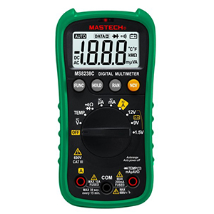 109951 - Digital Multimeter with Auto-Range and Temperature Measurement