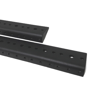 120100/02U - 2U Rack Mount Rails (Sold as a pair)
