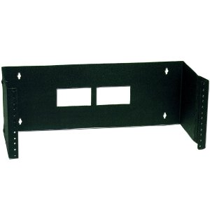 "120119BK - 19"" Wall Mount Hinged Rack Mount Bracket - 12"" Depth - 4U"