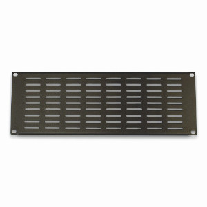 "120158-4V - 19"" Rack Mount Vented Steel Blank Panel Filler - 4U"