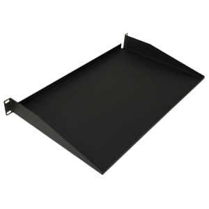 "120291 - 19"" Standard Solid Utility Rack Shelf (1.2mm) - 10"" Depth - 1U (1.75"")"
