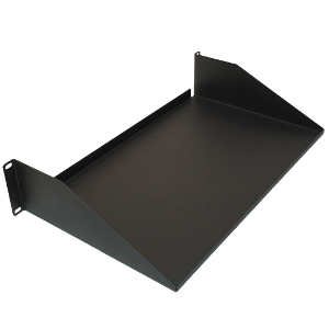 "120292 - 19"" Standard Solid Utility Rack Shelf (1.2mm) - 10"" Depth - 2U (3.5"")"