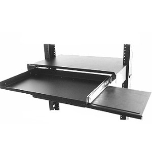 "120179 - 19"" Rack Mount Console Unit for Monitor & Sliding Keyboard Shelf"