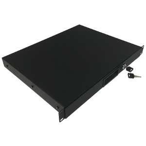 "120241BK - 19"" Rack Drawer w/Lock and Key - 1U (1.75"")"