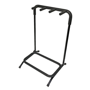 120350-3 - Folding Guitar Stand - Holds 3 Guitars