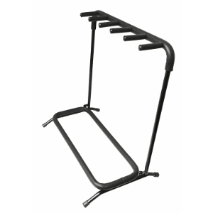 120350-5 - Folding Guitar Stand - Holds 5 Guitars