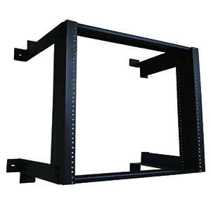 "120386 - Fixed Wall Rack - 18"" Deep - 8U"
