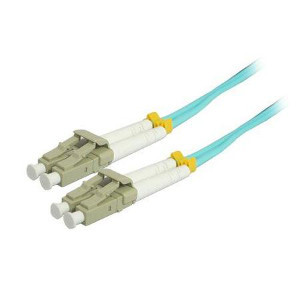 162236/10M - LC-LC 10 Gigabit OM3 Multimode Duplex Fiber Optic Jumper - 50/125 - 10 Meter