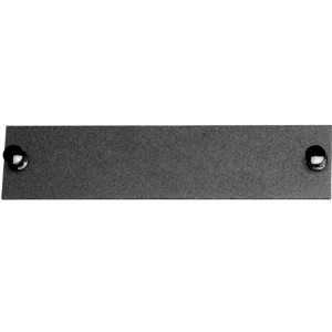 163100BK - Blank Insert Panel for Fiber Optic Distribution Enclosures