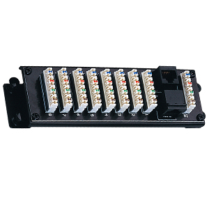 249110 - Voice Distribution Module - 8 Bridged 110 Connections + RJ31X Security