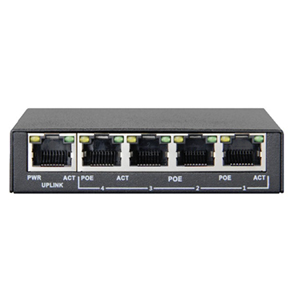 252029 - 5-Port High Power Gigabit PoE Switch (4 Port PoE)