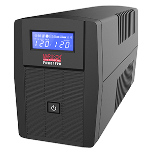 260622 - PowerPro Series - 800VA - LCD display - 6 Outlets UPS