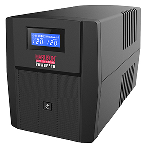 260646 - POWER PRO-1500LCD 1500 VA 900 Watts 8 Outlets UPS