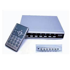 2AM4-504B - 4 Channel Color Multiplexer (Quad) with Remote Control