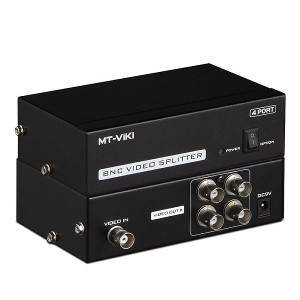 2AV014 - 4-Port BNC Video Splitter
