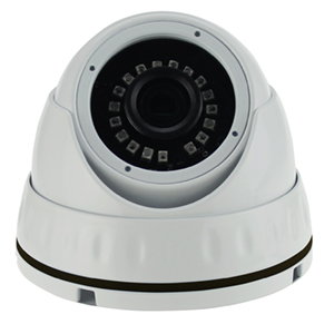 "2DVI7465V-WH - 4.7"" IR Dome Camera - I/O - Vandal Proof - 700TVL - 2.8-12mm Varifocal Lens"