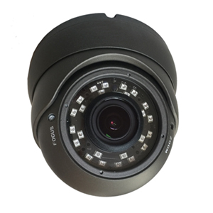2DVTV200V_BK - HD-TVI IR Dome Camera - Indoor/Outdoor - Vandal Proof - Sony - 1080P - 2.8mm - 12mm Varifocal Lens